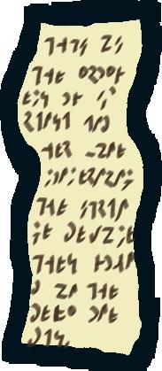 prophetic scroll