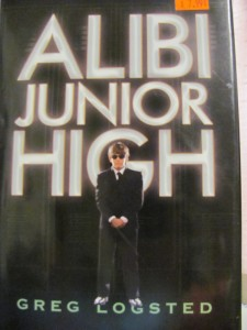 The cover of the book Alibi Jr High