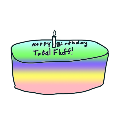 A birthday cake for totalfluff