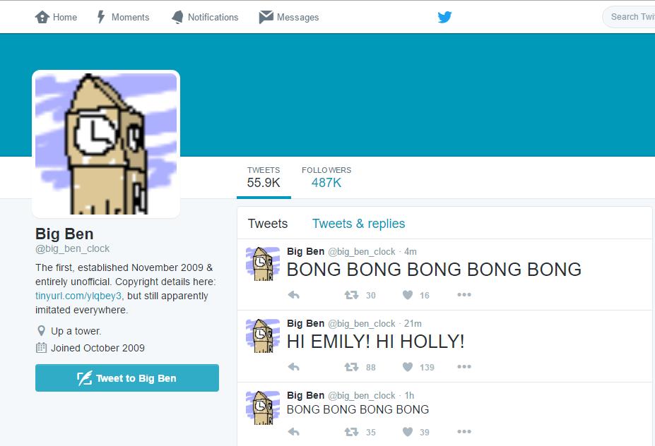 Big Ben Twitter Broke